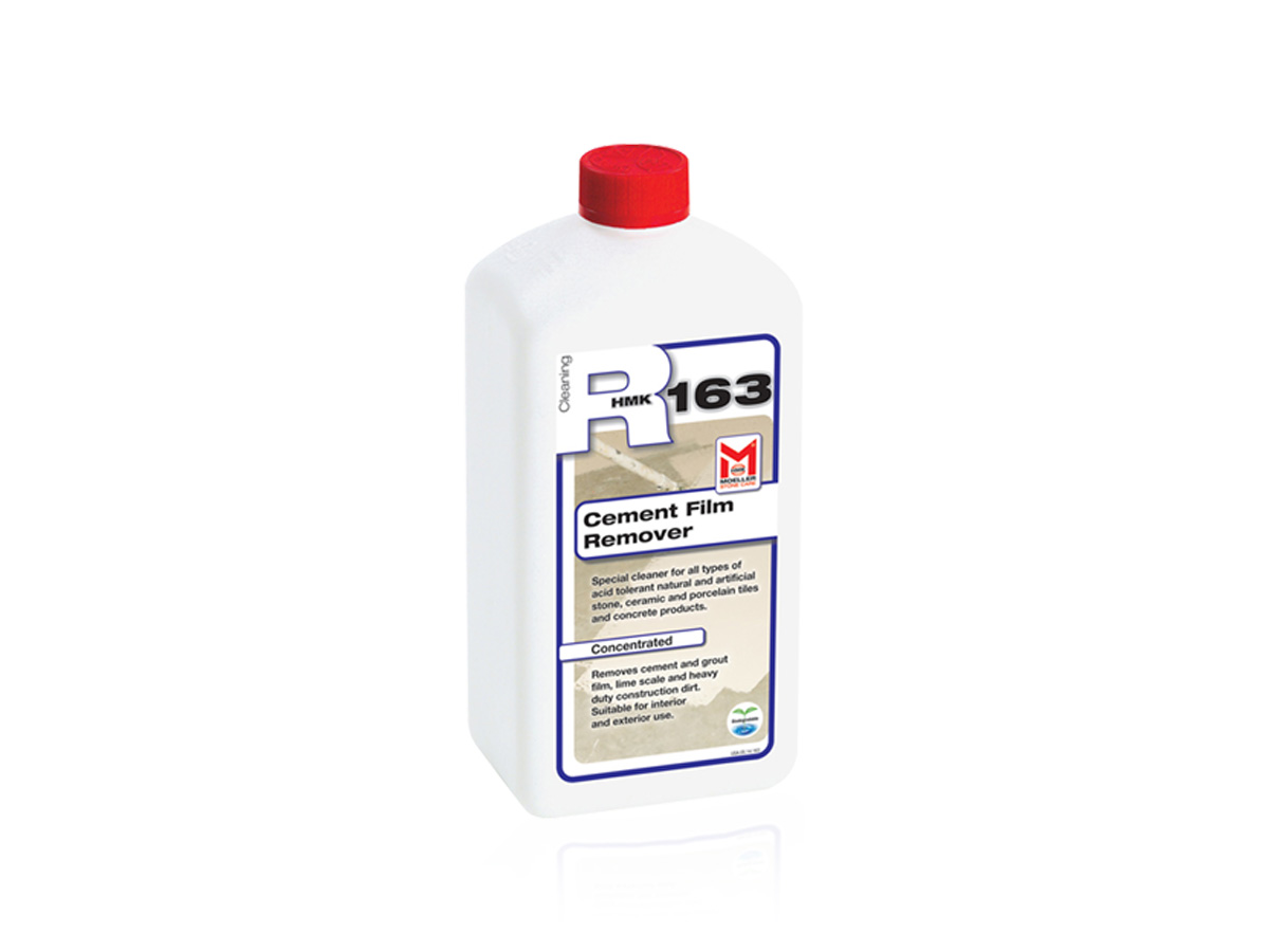 R163 (CEMENT FILM REMOVER – ACID BASED)