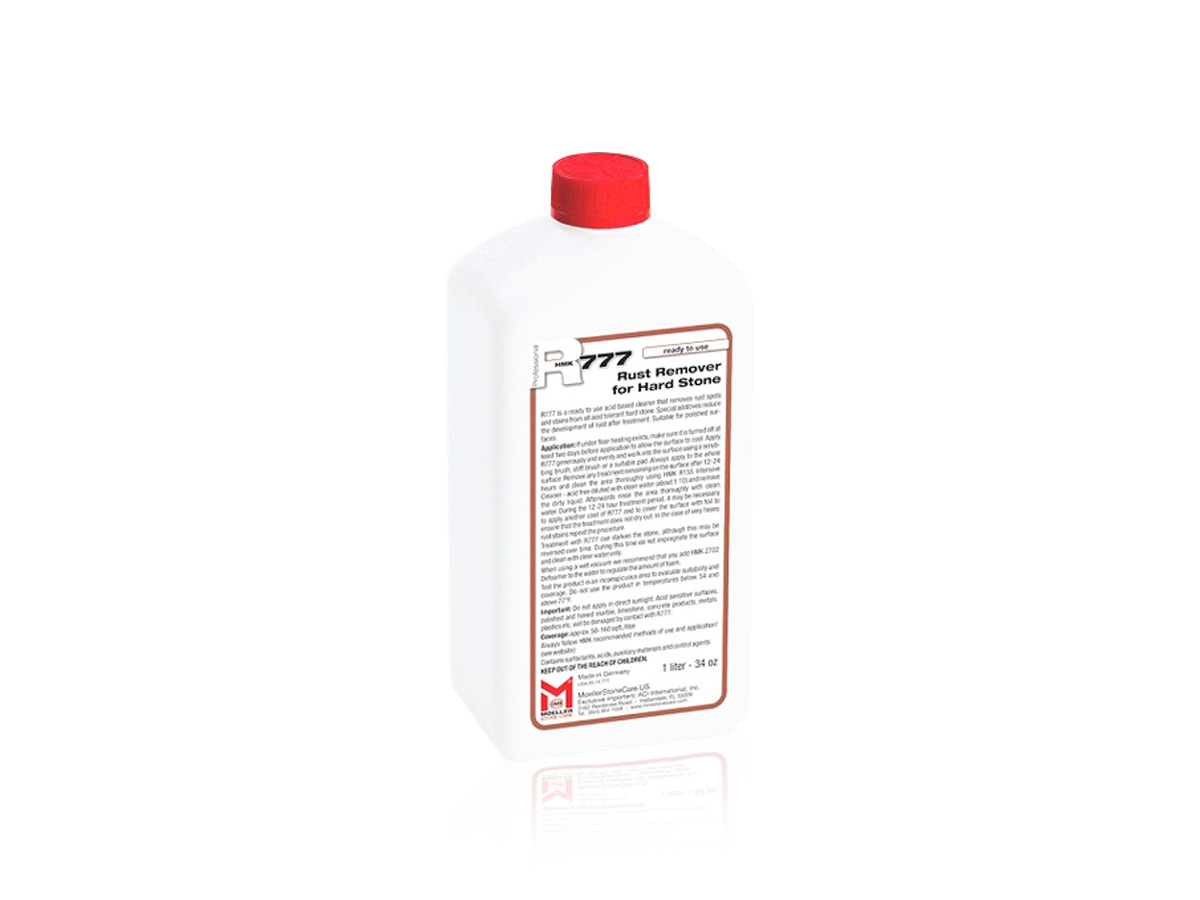 R777 - Rust Remover for Hard Stone